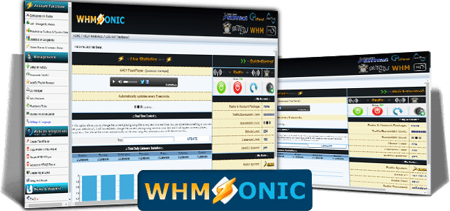 Configuración streaming audio mp3 whmsonic